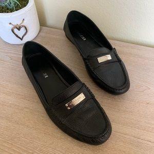 COACH Fredrica Size 9.5 Black Loafers